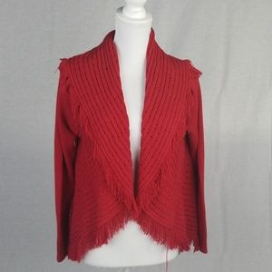 Style & co red sweater.